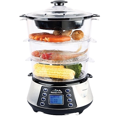 Heaven Fresh (HF 8333) NaturoPure™ Digital Food Steamer