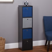 TMS 43.5'' Cube Bookcase; Blue