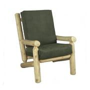 Rustic Cedar Living Room Frame Chair