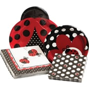 Creative Converting Ladybug Fancy Party Table Ware Kit