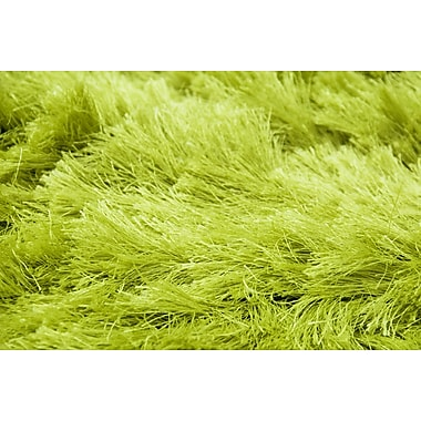 AMER Rugs Elements Neon Lime Green Area Rug; 8' x 10'