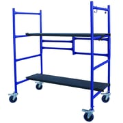 Buffalo Tools Pro-Series 46'' x 1.8' x 41'' Roll And Fold Mini Scaffold