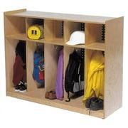 Steffy 1 Tier 5-Section Toddler Locker