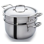 CUL Distributors Culina Steamer Cookware 3 Piece Set