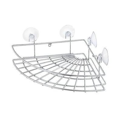 Kenney Shower Caddy w/ Perm/Suction Cup Corner Basket WYF078278053677