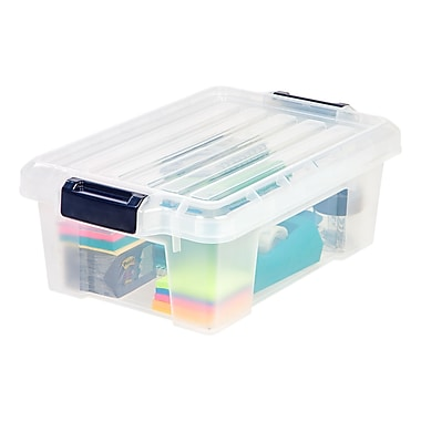 Staples® 3 Gallon Storage Tote (251306)
