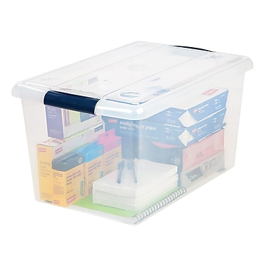 Staples® Store-n-Slide File Tote (170282)