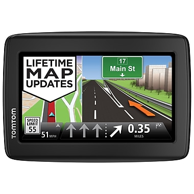 TomTom Via 1515M GPS, 5'' Backlit Touchscreen Display