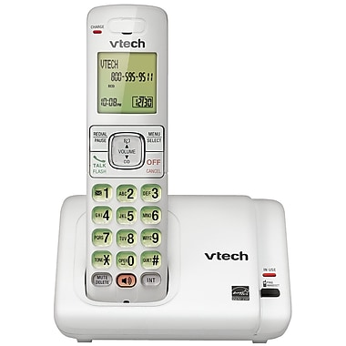 Vtech CS6719-17 Cordless Phone with Caller ID/Call Waiting, White