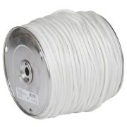 Braid On Braid Nylon Rope, White, Sold On A Reel