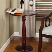 InRoom Designs Pedestal Plant Stand; Cherry