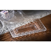 Fifth Avenue Crystal Muirfield 3 Piece Crystal Platter Set
