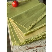 April Cornell Essential Placemats (Set of 4); Green/Yellow