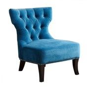 Abbyson Living Cole Club Chair; Petrol Blue