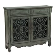 Coast to Coast Imports Classic Charmer 2 Drawer 2 Door Cabinet