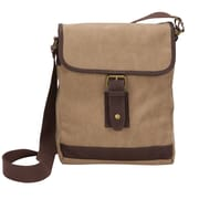 World Traveler The Riverside Small Canvas Field Crossbody Tablet Messenger Bag
