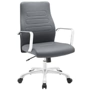 Modway Depict Mid-Back Task Chair; Gray