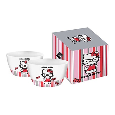 Paperproducts Design Hello Kitty Nerd Bowl (Set of 2)