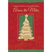 Across the Miles, Christmas Tree with Star, 18/Pack
