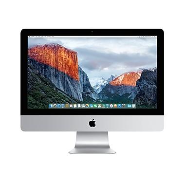 Apple - Ordinateur iMac de 21,5 po, processeur Intel Core i5 bicœur de 1,6 GHz, RAM de 8 Go, DD de 1 To, anglais