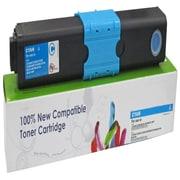 Fuzion New Compatible Okidata C310/C510 Cyan Toner Cartridges, Standard Yield (44469703)