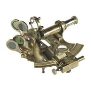 Authentic Models Sextant Case Desk Accessory in Brass