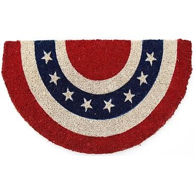Entryways Handmade Americana Doormat; 18'' x 30''