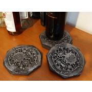 RQ Home Boiler Room Coaster (Set of 4)