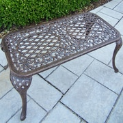 Oakland Living Mississippi Coffee Table; Antique Bronze