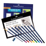 Faber- Castell Creative Studio Getting Started Watercolor Pencil Art Set