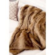 WovenWorkz Ibex Faux Fur Throw Blanket