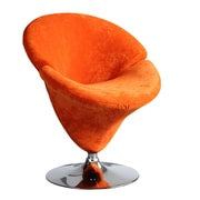Ceets Tulip Leisure Papasan Chair; Orange