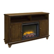 Pleasant Hearth Pearson Media Cabinet and 23'' Electric Fireplace