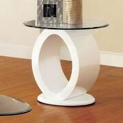 Hokku Designs Ashton End Table; White