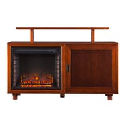 Wildon Home   Barton TV Stand with Electric Fireplace