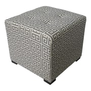 Sole Designs Merton Ottoman; Towers Grey