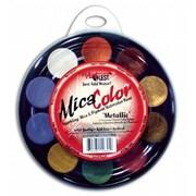 US Artquest Mica Watercolor Paint Palettes; Metallics