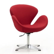 Ceets Swan Adjustable Wool Arm Chair