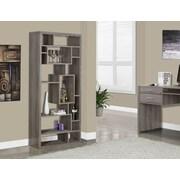 Monarch Specialties Inc. Reclaimed-Look 72'' Standard Bookcase