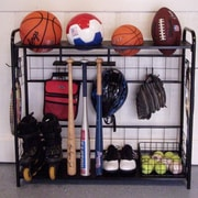 JJ International Sports Organizer Freestanding Sports Rack