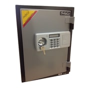 SafeCo 2 Hr Electronic Lock Home Fireproof Safe 0.76 CuFt