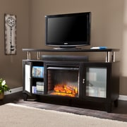 Wildon Home   Sutton TV Stand with Electric Fireplace