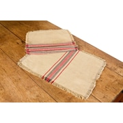 Xia Home Fashions Stripe Linen Placemat (Set of 4)