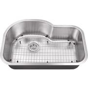 Soleil 31.5'' x 21.13'' Single Bowl Kitchen Sink