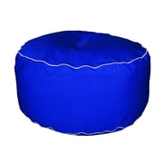 Hip Chik Chairs Outdoor Round Ottoman; Pacific Blue