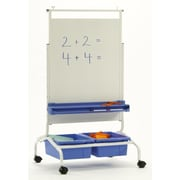 Copernicus Deluxe Free-Standing Whiteboard, 4' H x 2' W