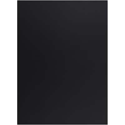 """""JAM Paper 8 1/2"""""""" x 11"""""""" Cardstock, Smooth Black 65lb, 50/Pack (64431263)"""""" 2329644"