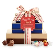 Lindt Happy Holidays Gift Tower, 32.6 oz (8448-M)