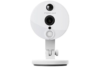 Foscam C2 Indoor 1080P FHD Wireless Plug and Play IP Camera with Night Vision 120 degree Viewing Angle White