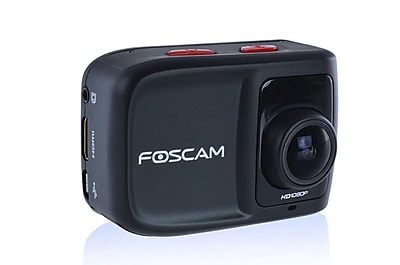 FosCam AC1080 HD 1080P 12MP Action Camera with 3x Rapidshot 1.5 LCD Viewscreen Built in Mic Speaker and Waterproof Housing